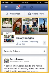 Savvy Images Facebook Fan Page