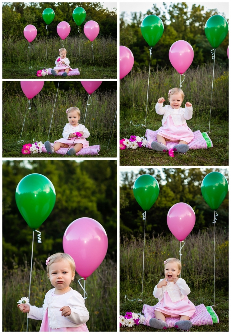 Anchorage Baby One Year Photography