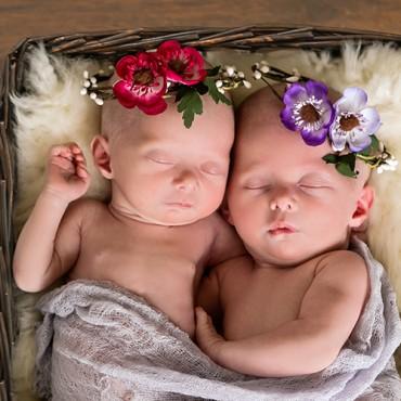 Savvy Images Twin Newborn Photos Featured