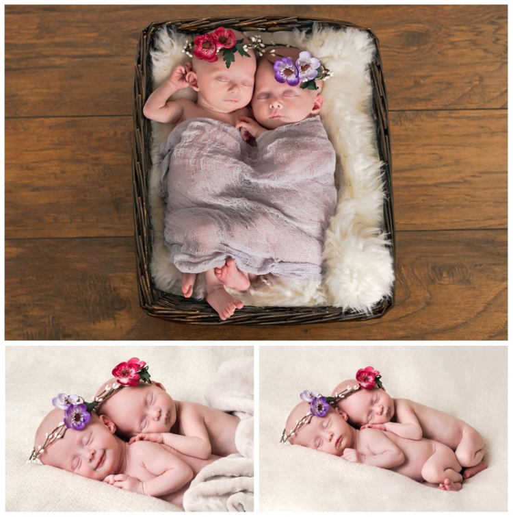Savvy Images Anchorage Twin Newborn Photos