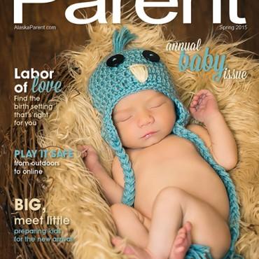 Alaska Parent Spring 2015 Cover - Savvy Images