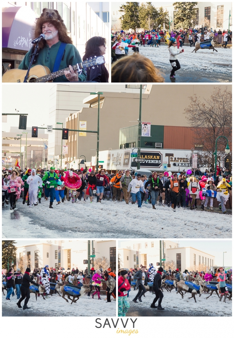 Running of the Reindeer - Savvy Images - Travel Tuesday