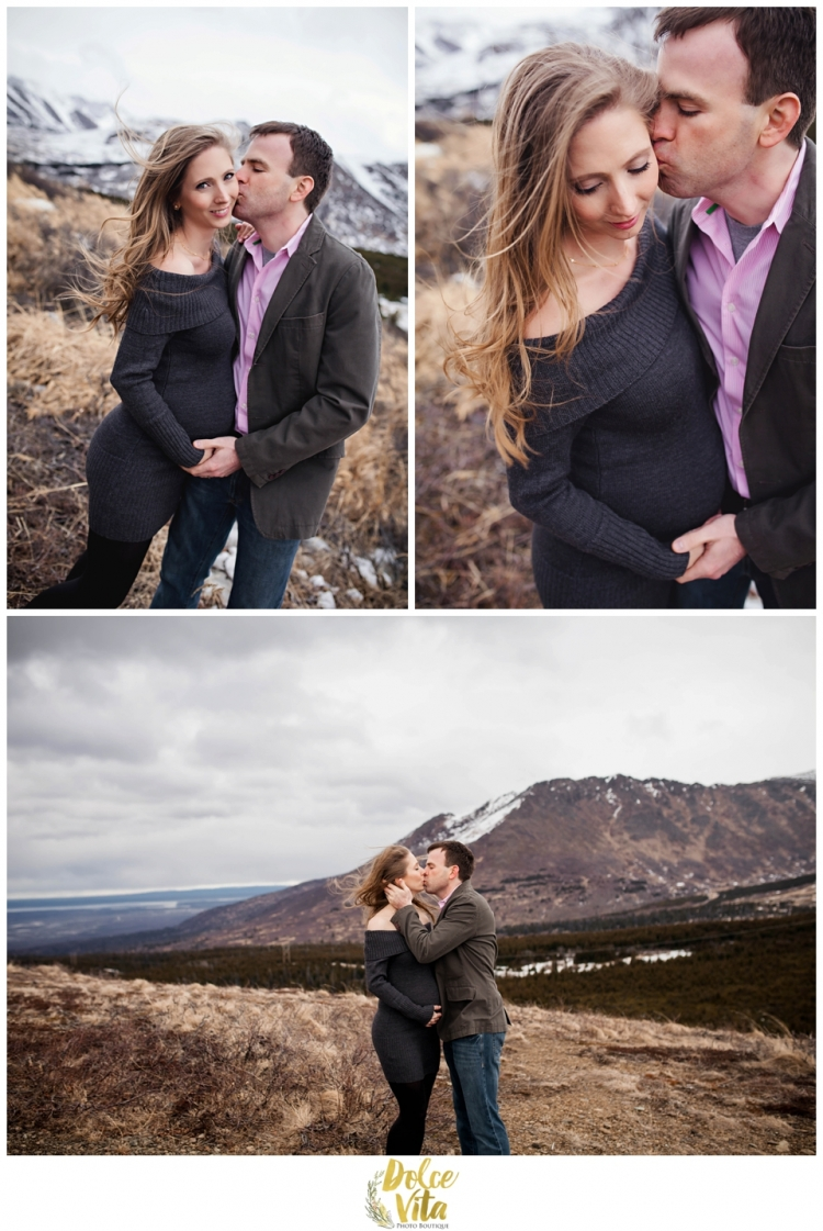 Dolce Vita Photo Boutique - Anchorage Photographer - Maternity Photos