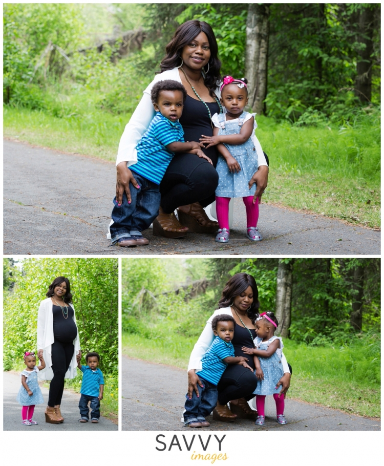 Twin Maternity Session