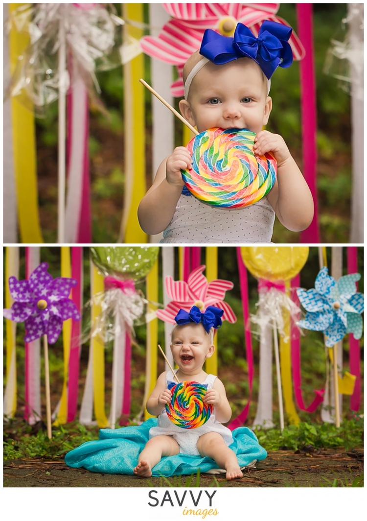 Savvy Images - Houston One Year Baby Photos