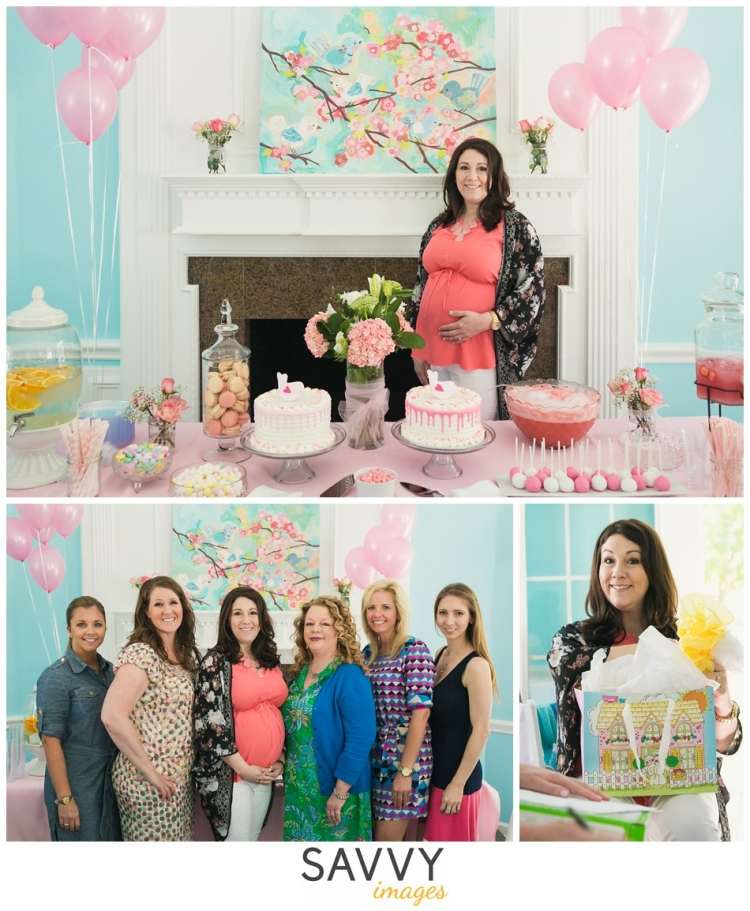 Showered with Love - Savvy Images - Houston Newborn Photos