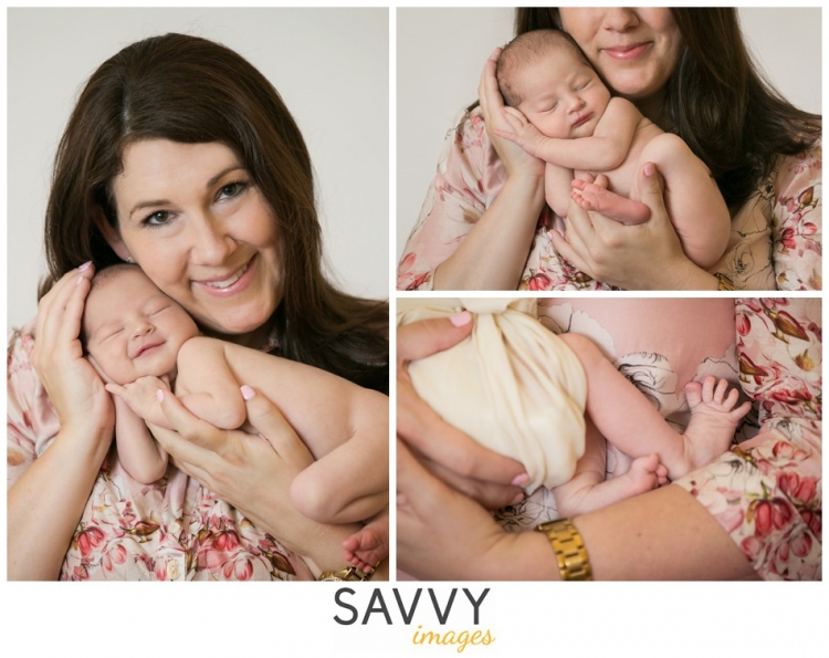 Savvy Images Newborn Family Photos - Houston newborn photographer