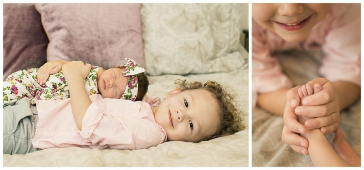 austin sibling newborn photos